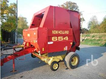 NEW HOLLAND 654 Round - مكنة