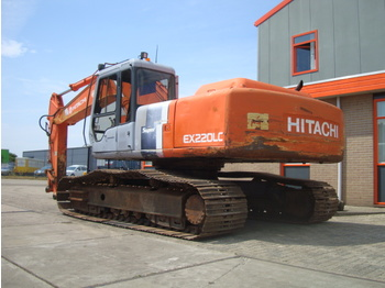 HITACHI Super EX220LC-2 - حفار زحاف