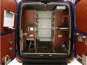 9a70a0cc52 شاحنة مغلقة الصندوق Volkswagen Crafter 35 L Maxi AC Navi Transport ...