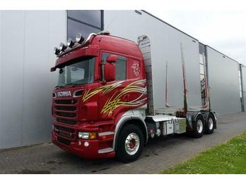 نقل الأخشاب Scania R730 V8 6X4 HIGHLINE RETARDER EURO 5