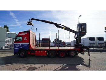 Volvo FH500 8X4/4 TIMBER TRANSPORT WITH JONSERED 1080 79R CRANE - نقل الأخشاب