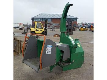 PTO Driven Wood Chipper to suit 3 Point Linkage - قاطعة الأخشاب