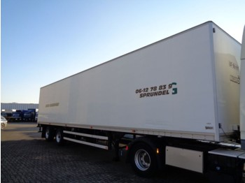 Talson 2Axle + Lift - نصف مقطورة صندوق مغلق