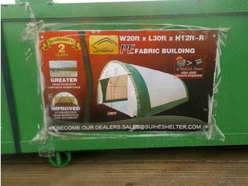 2020 20' x 30' x 12' Dome Storage Shelter - حاوية البناء