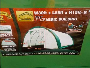 2020 30' x 65' x 15' Dome Storage Shelter - حاوية البناء
