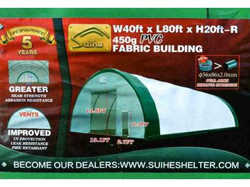 2020 40' x 80' x 20' Dome Storage Shelter - حاوية البناء