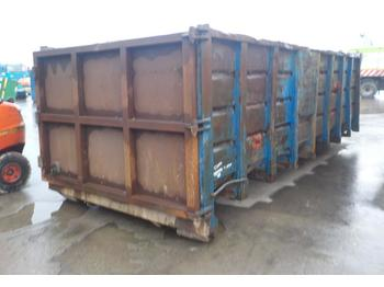 25Yard RORO Skip to suit Hook Loader Lorry - حاوية هوك لفت
