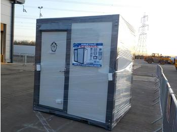 Unused 2020 Portable Toilet Block, Shower - صندوق مغلق/حاوية