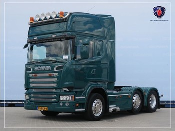 Scania R560 LA6X2/4MNB | V8 | 8T | Leather seats | Navi | PTO | Hydraulic - وحدة جر