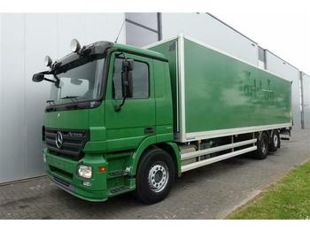 Mercedes-Benz ACTROS 2536 6X2 BOX AUTOMATIC FULL AIR EURO 5  - شاحنة مقفلة