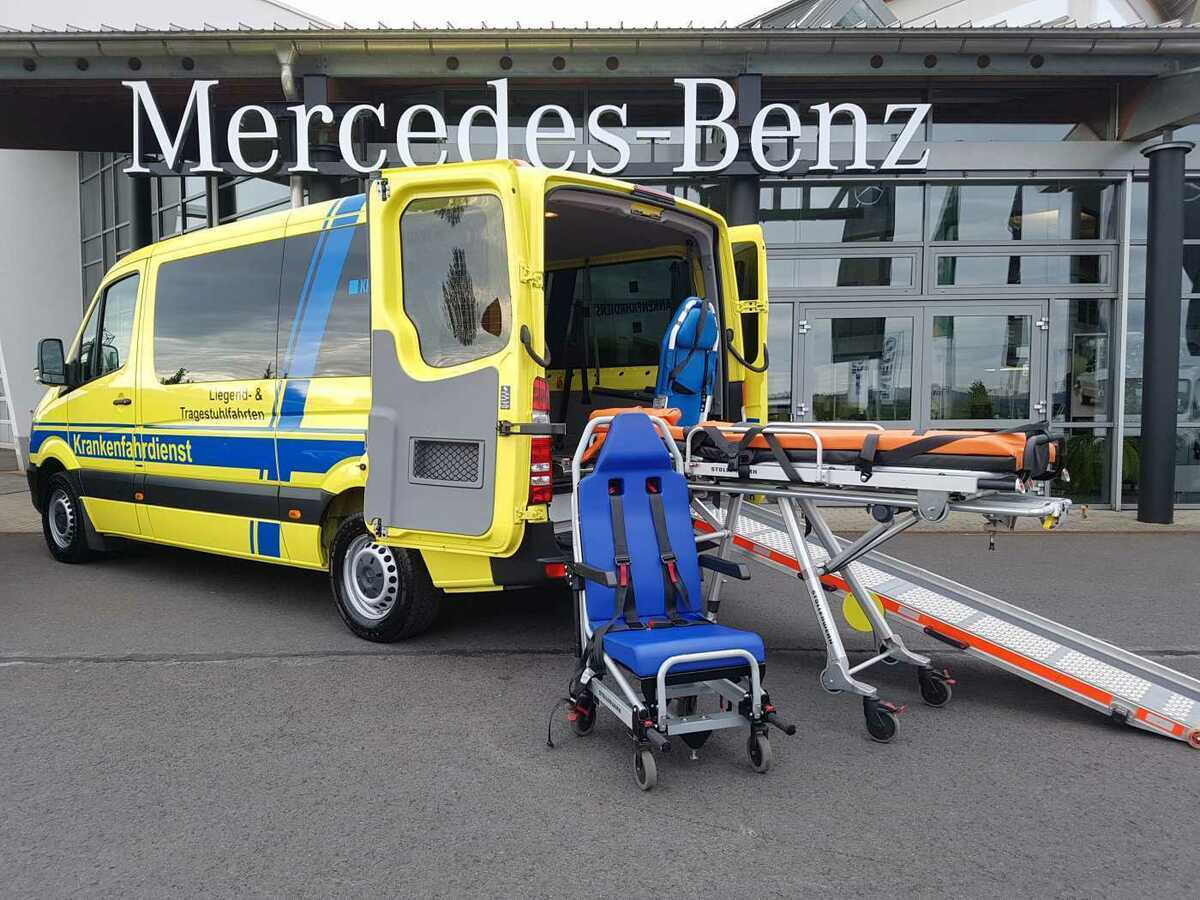 سيارة اسعاف Mercedes Benz Sprinter 316 Cdi Krankenfahrdienst